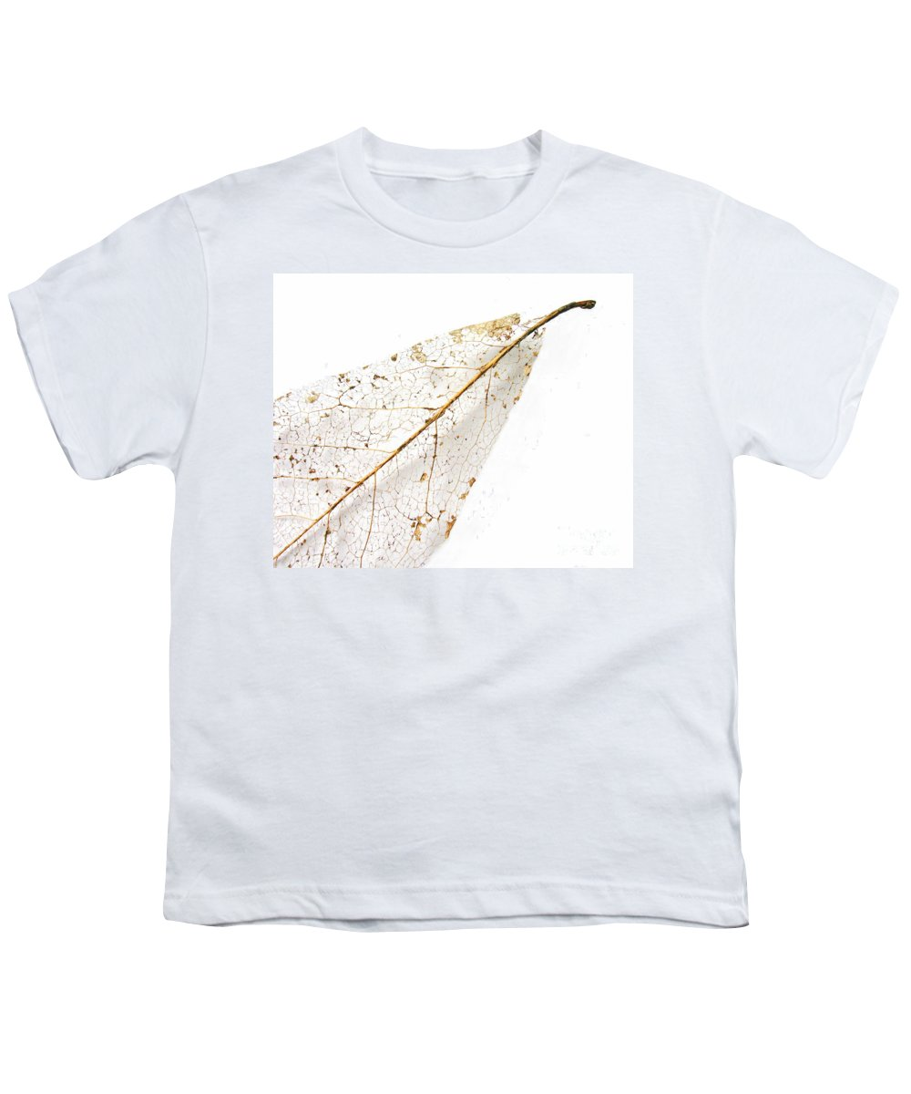 Leaf Youth T-Shirt featuring the photograph Remnant Leaf by Ann Horn