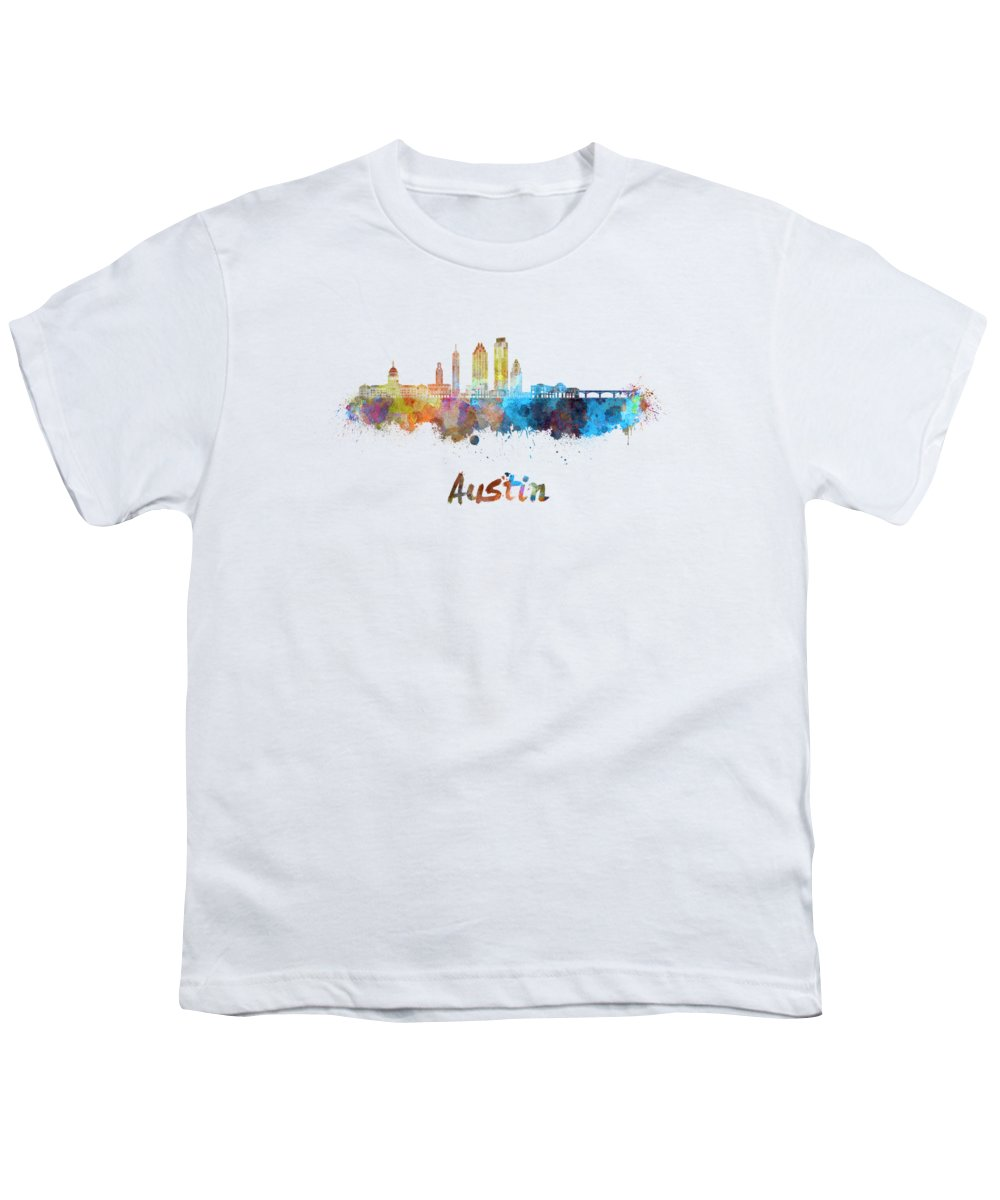 Austin Skyline Youth T-Shirts