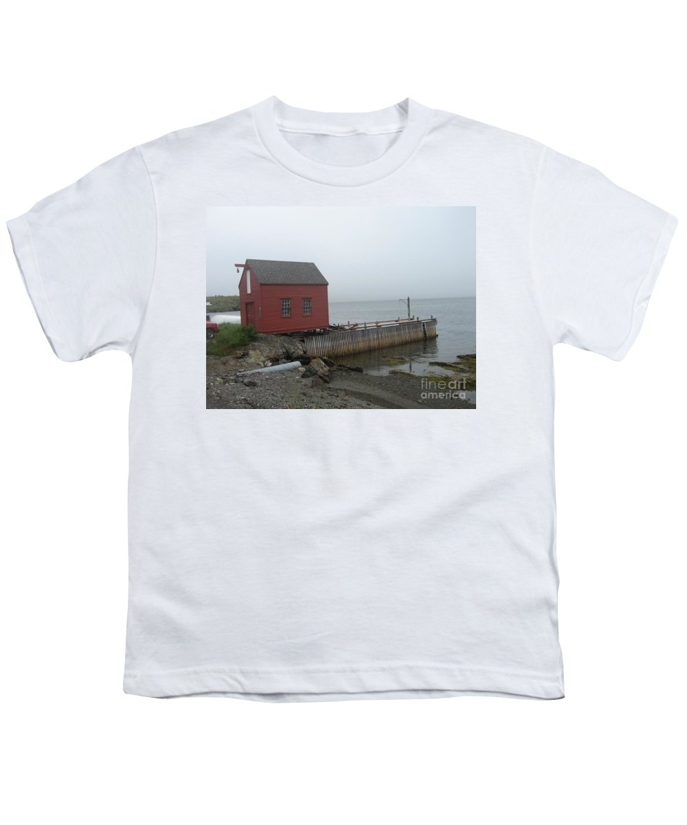 Photograph Bonavista Island Atlantic Ocean Newfoundland Youth T-Shirt featuring the photograph Bonavista by Seon-Jeong Kim