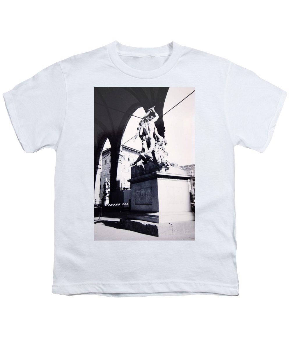 Firenze Youth T-Shirt featuring the photograph Florence by Kurt Hausmann