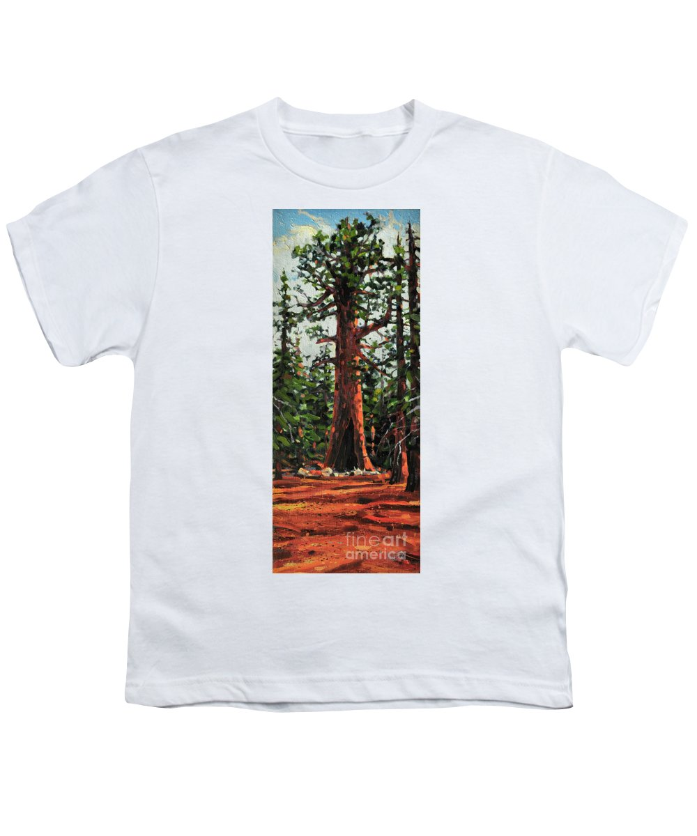 General Sherman Youth T-Shirt featuring the painting General Sherman by Donald Maier