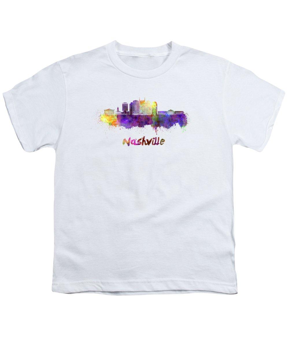 Nashville Skyline Youth T-Shirts