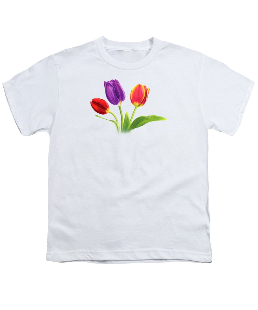 Tulips Youth T-Shirts