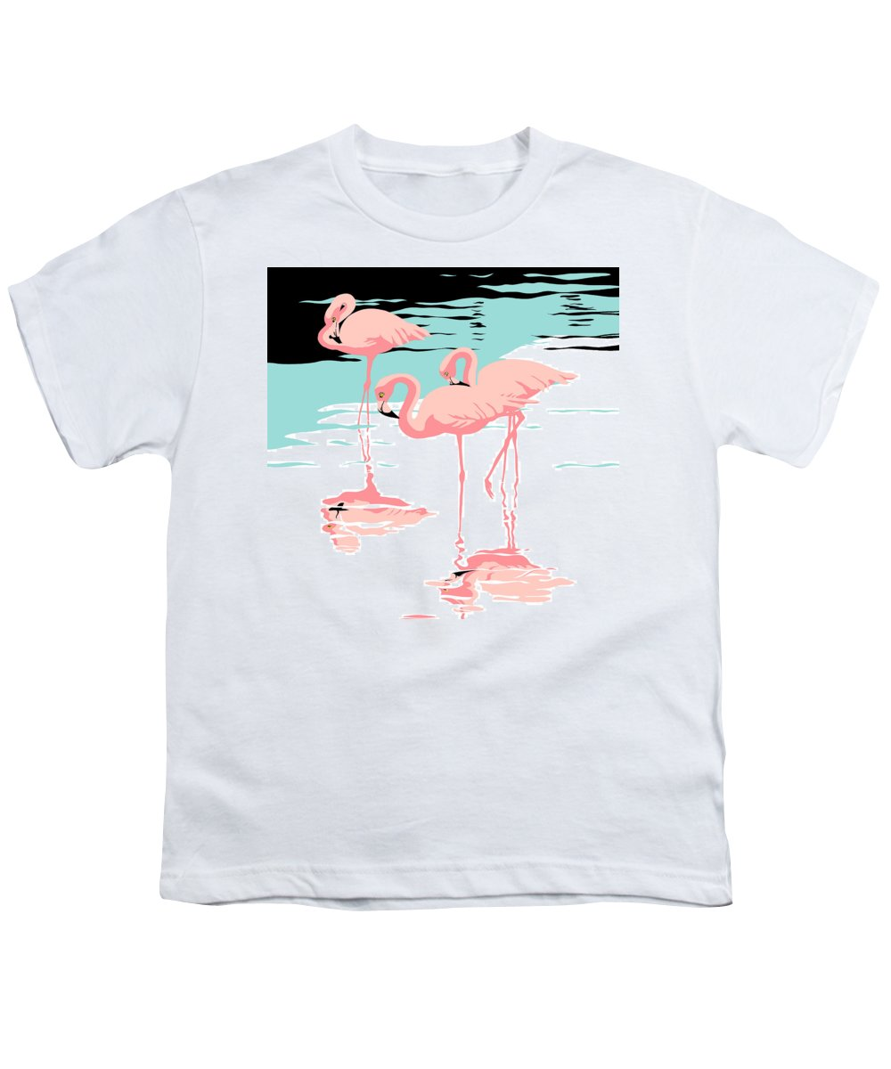 Retro Abstract Youth T-Shirts