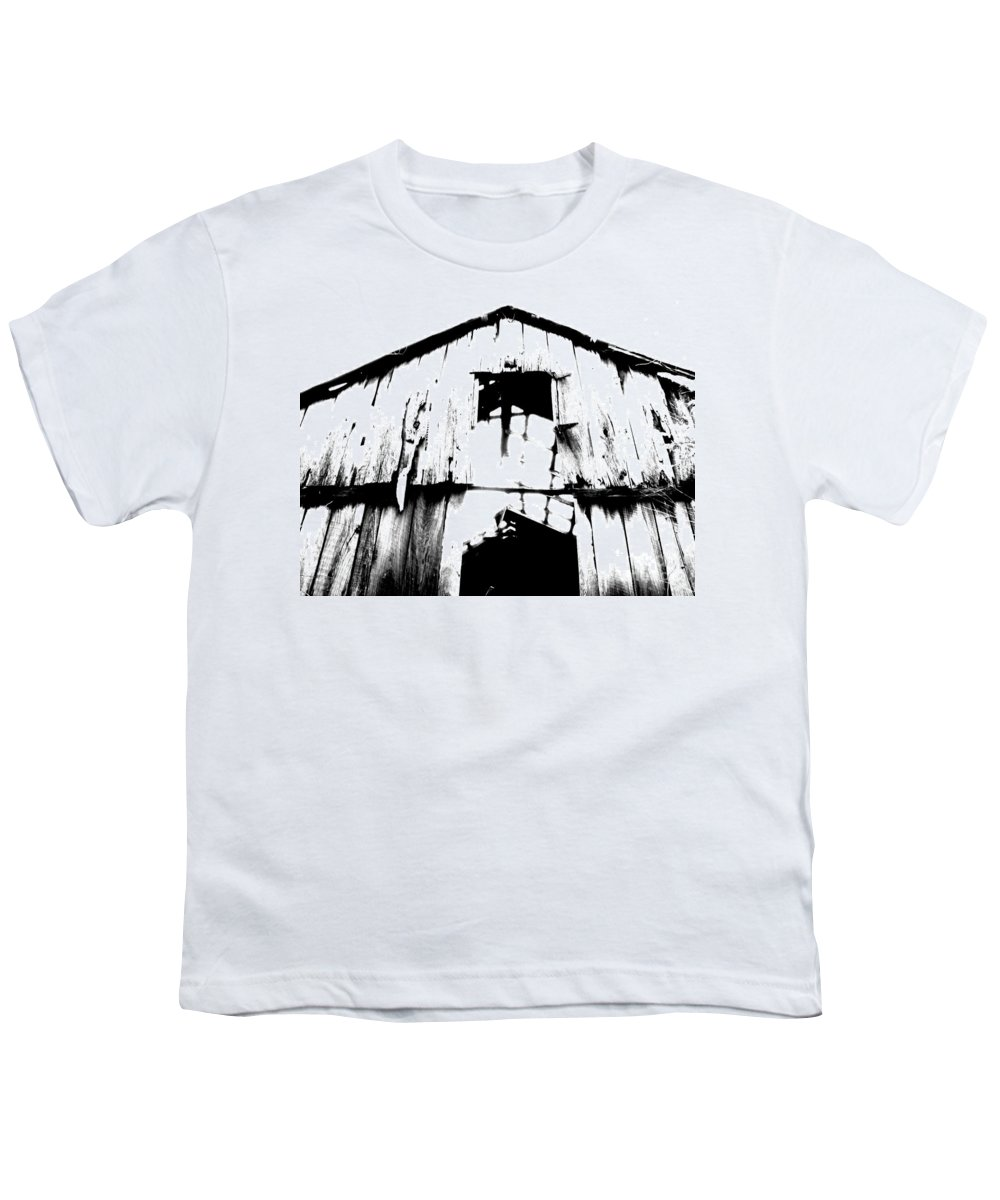 Barn Youth T-Shirt featuring the photograph Barn by Amanda Barcon