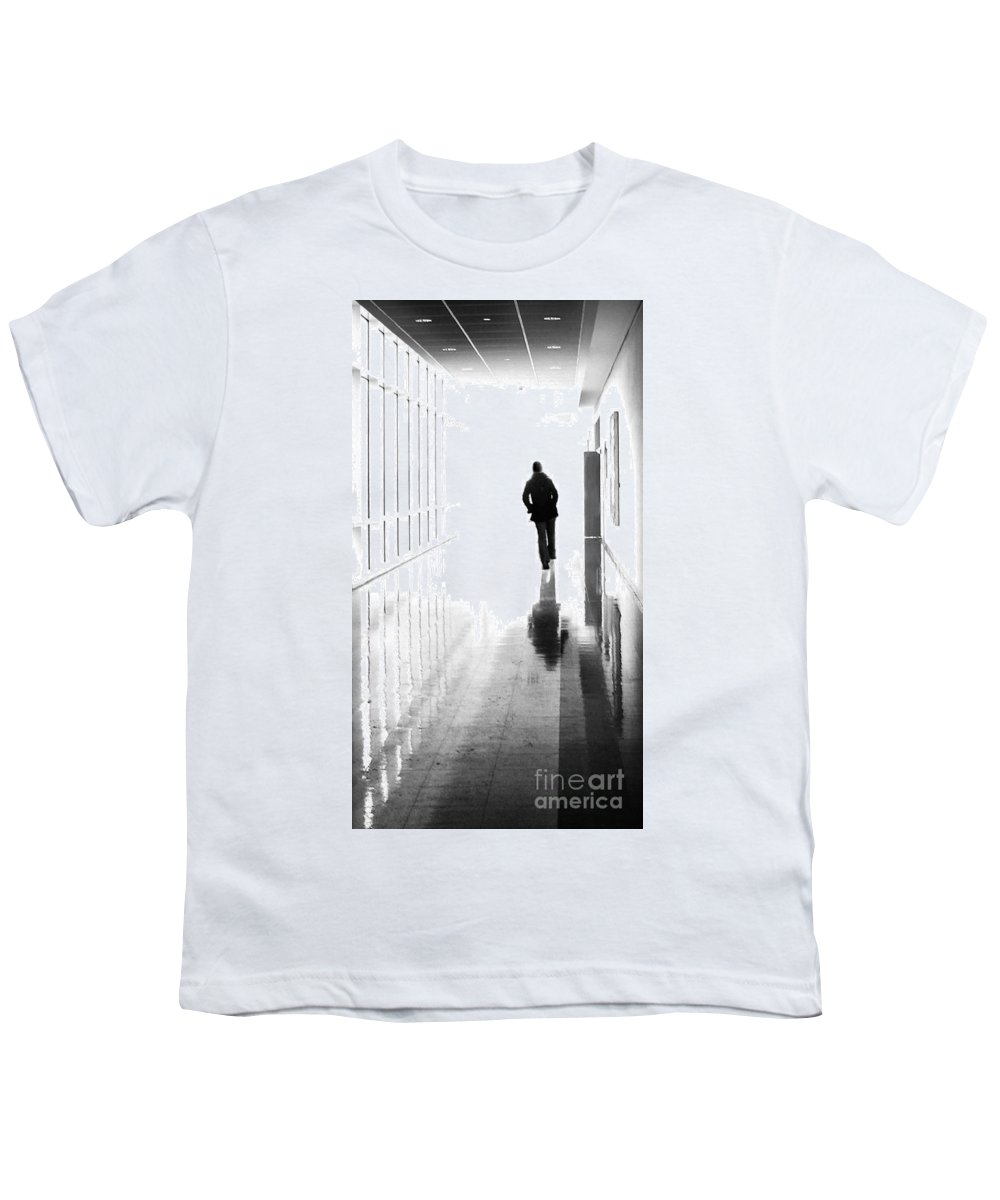 Dipasquale Youth T-Shirt featuring the photograph Being Alone Doesnt Mean Youre Free by Dana DiPasquale