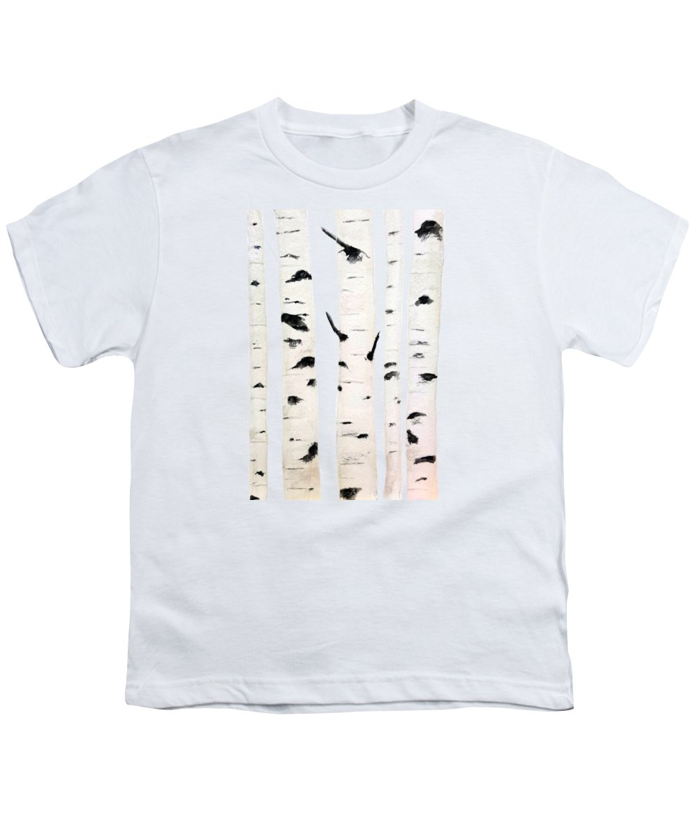 Birch Youth T Shirt For Sale By Color Color