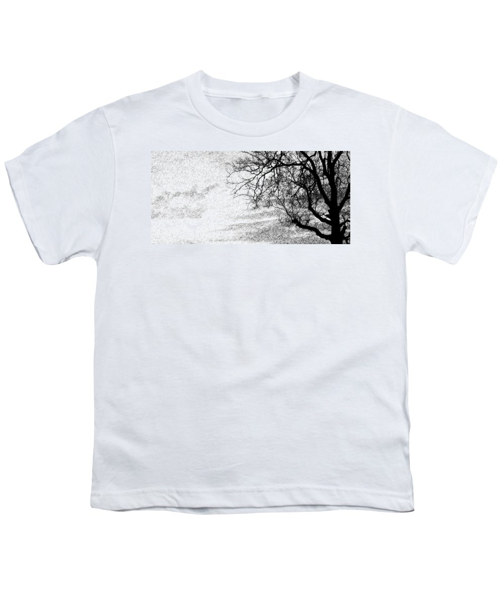 Sky Youth T-Shirt featuring the photograph Black Rain by Ed Smith