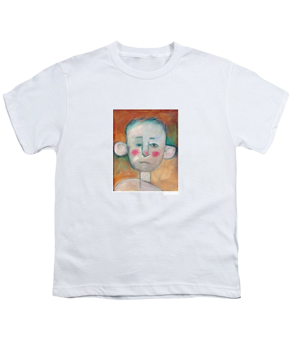 Boy Youth T-Shirt featuring the painting Boy by Tim Nyberg