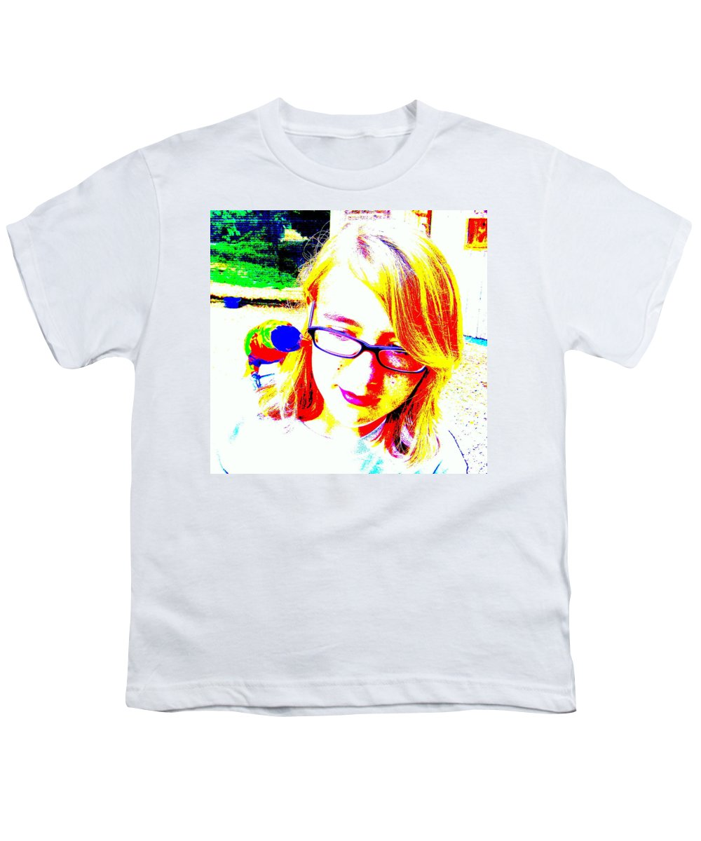 Bird Youth T-Shirt featuring the photograph Can You Hear Me Now by Ed Smith