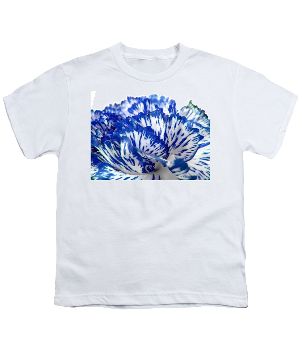 Carnation Youth T-Shirt featuring the photograph Carnation by Daniel Csoka