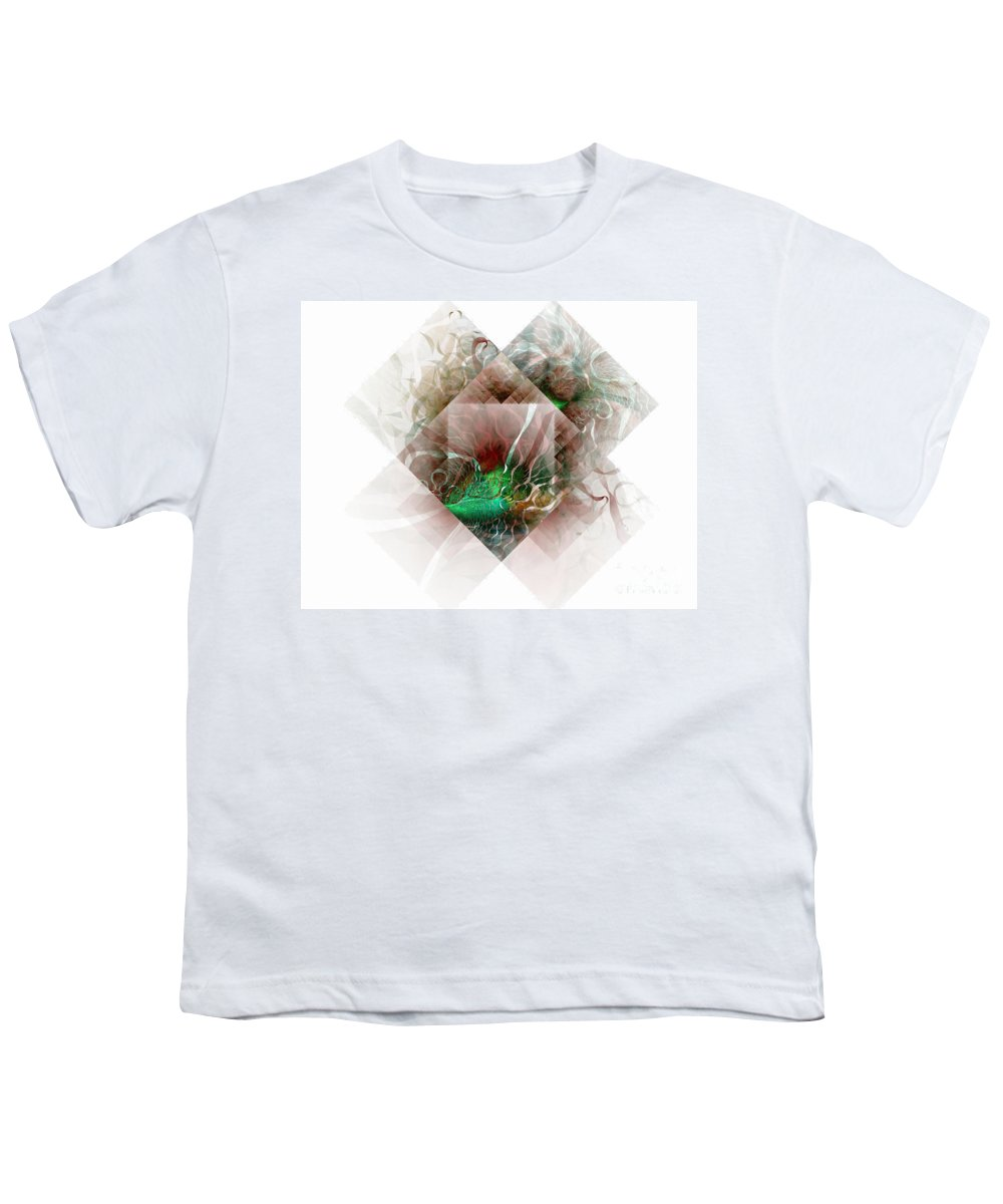 Digital Art Youth T-Shirt featuring the digital art Coastal Memoirs by Amanda Moore