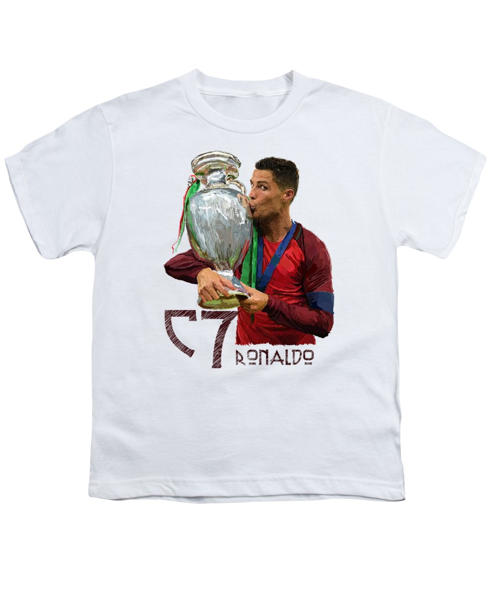 Cristiano Ronaldo Youth T-Shirts
