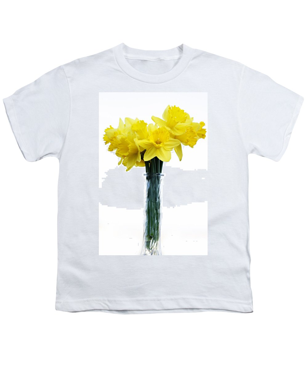 Daffodil Youth T-Shirt featuring the photograph Daffodil by Marilyn Hunt