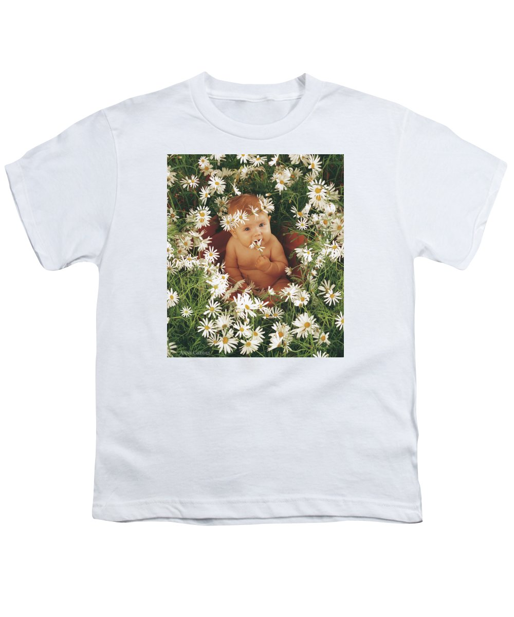Daisies Youth T-Shirt featuring the photograph Daisies by Anne Geddes