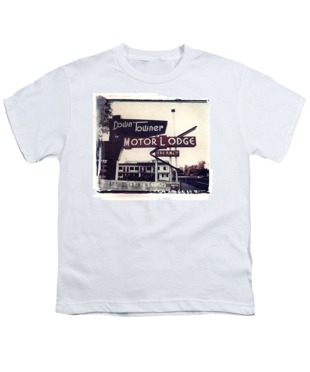 Landscape Youth T-Shirt featuring the photograph Down Towner by Jane Linders