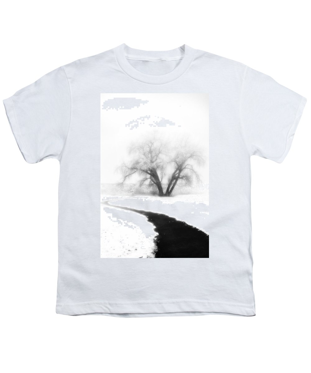 Tree Youth T-Shirt featuring the photograph Getting There by Marilyn Hunt