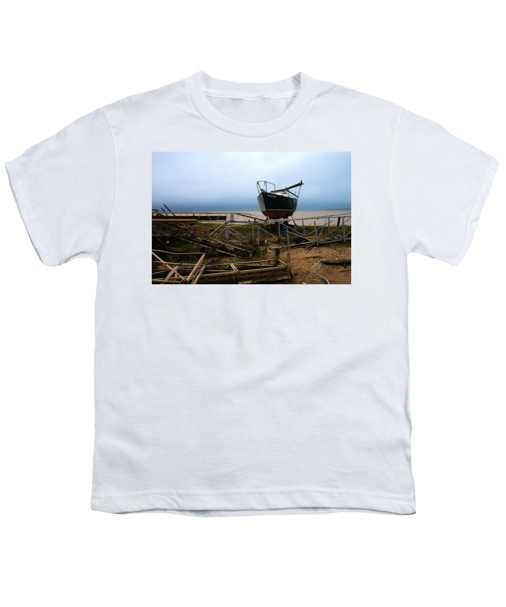 Clay Youth T-Shirt featuring the photograph Ghost by Clayton Bruster