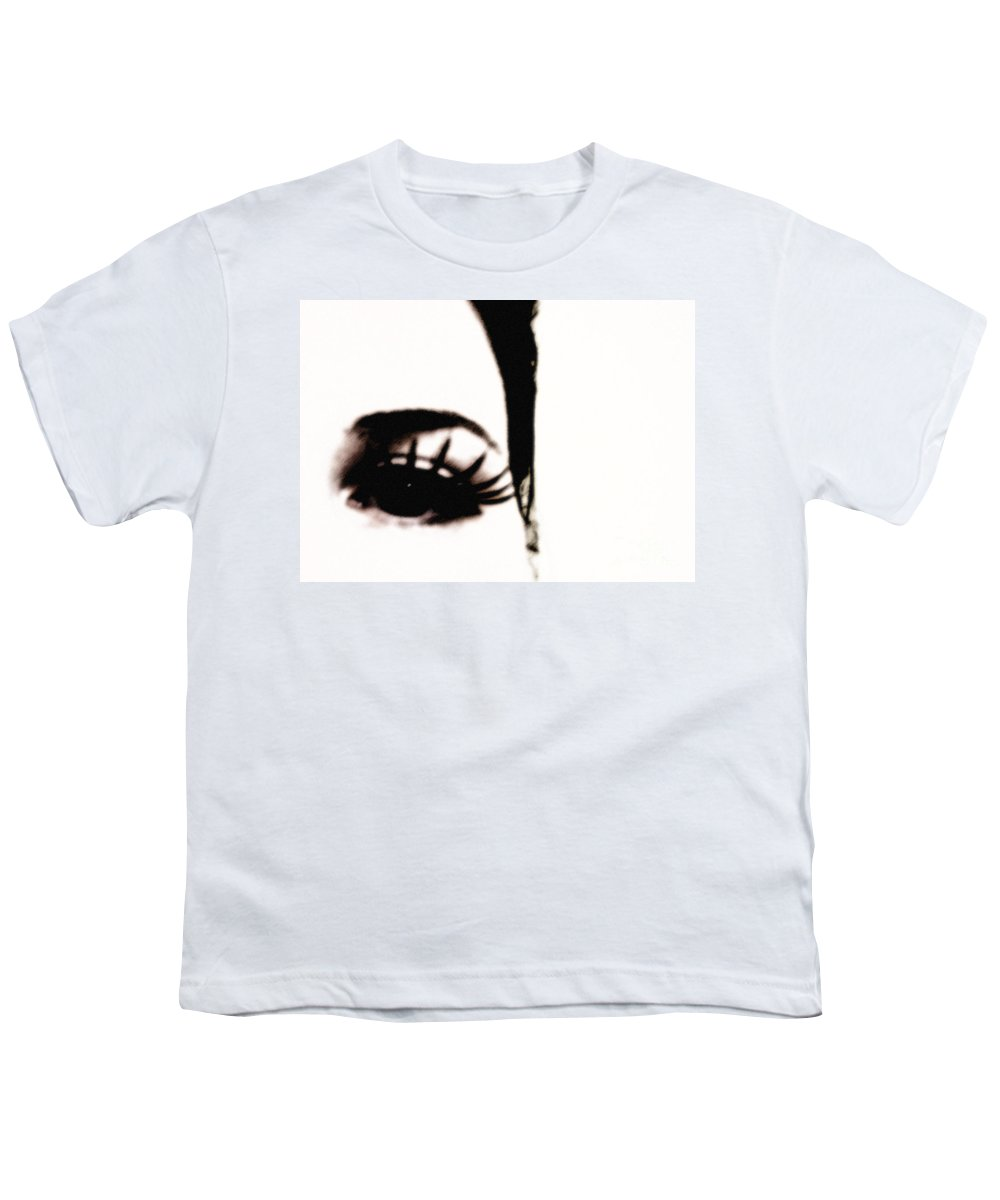 Eye Youth T-Shirt featuring the photograph Hello by Amanda Barcon