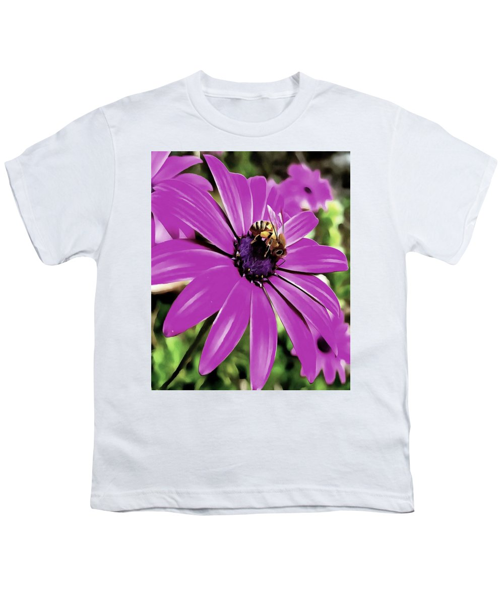 Osteospermum Youth T-Shirts