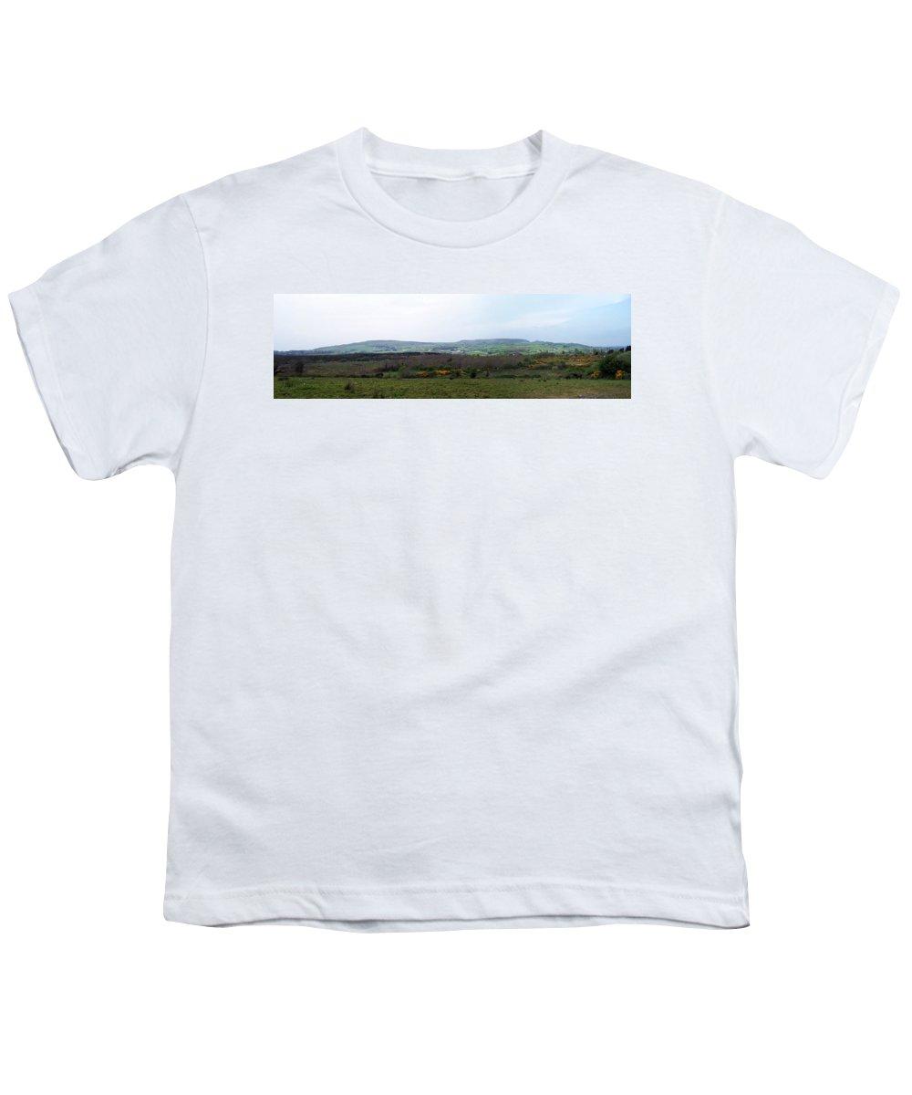 Ireland Youth T-Shirt featuring the photograph Horses At Lough Arrow County Sligo Ireland by Teresa Mucha