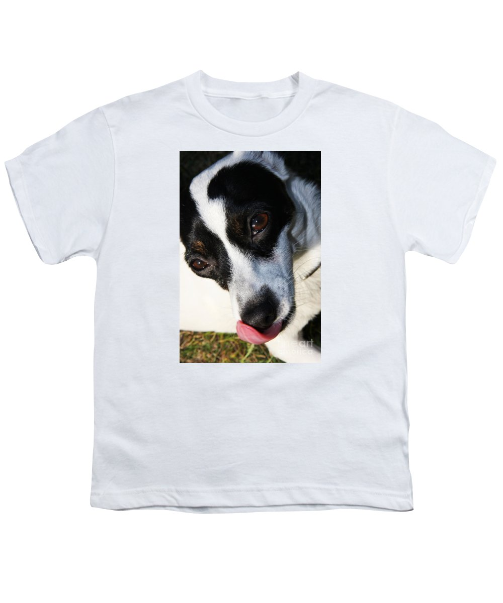 Pet Youth T-Shirt featuring the photograph Hungry Dog by Jorgo Photography - Wall Art Gallery