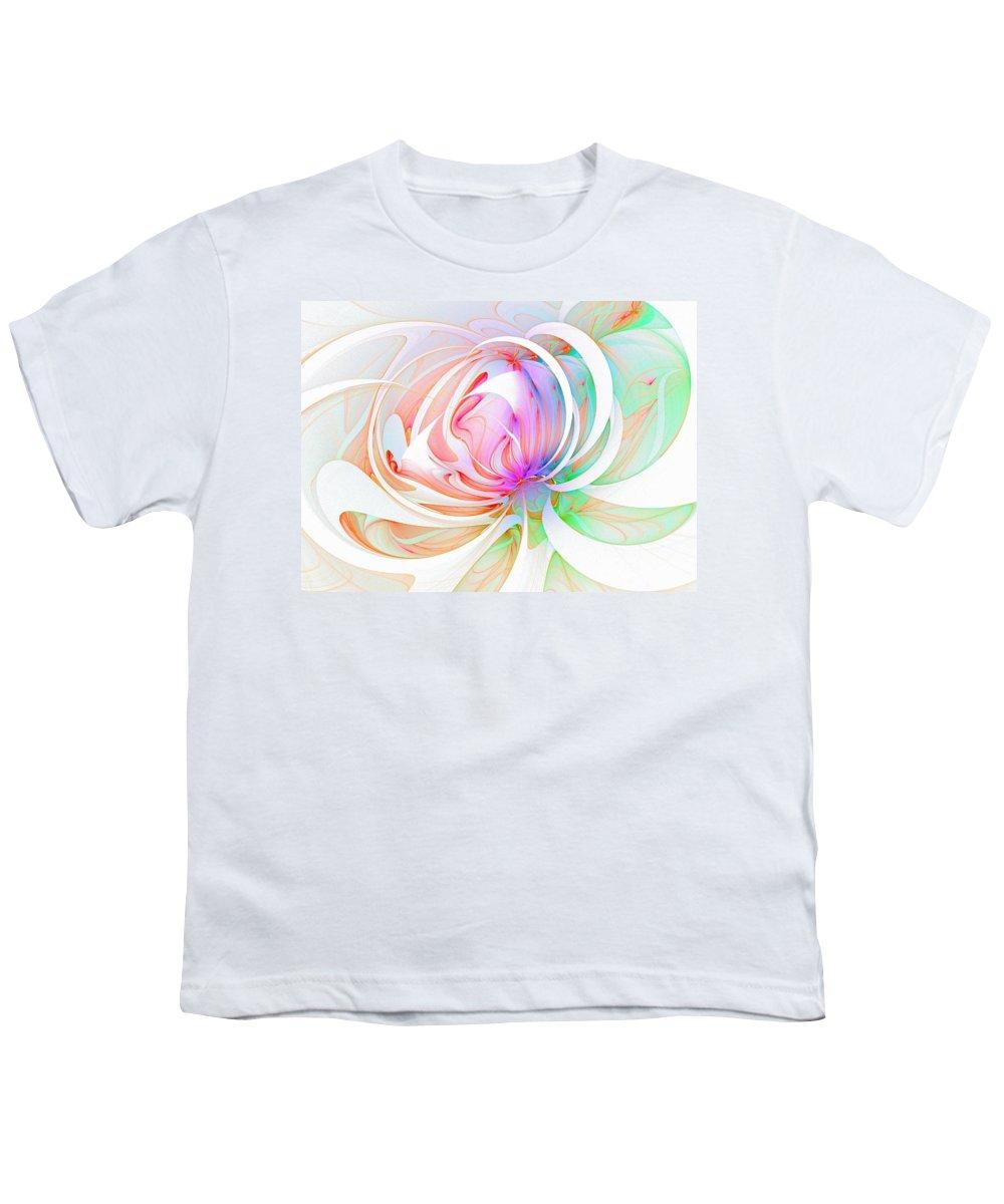 Digital Art Youth T-Shirt featuring the digital art Joy by Amanda Moore