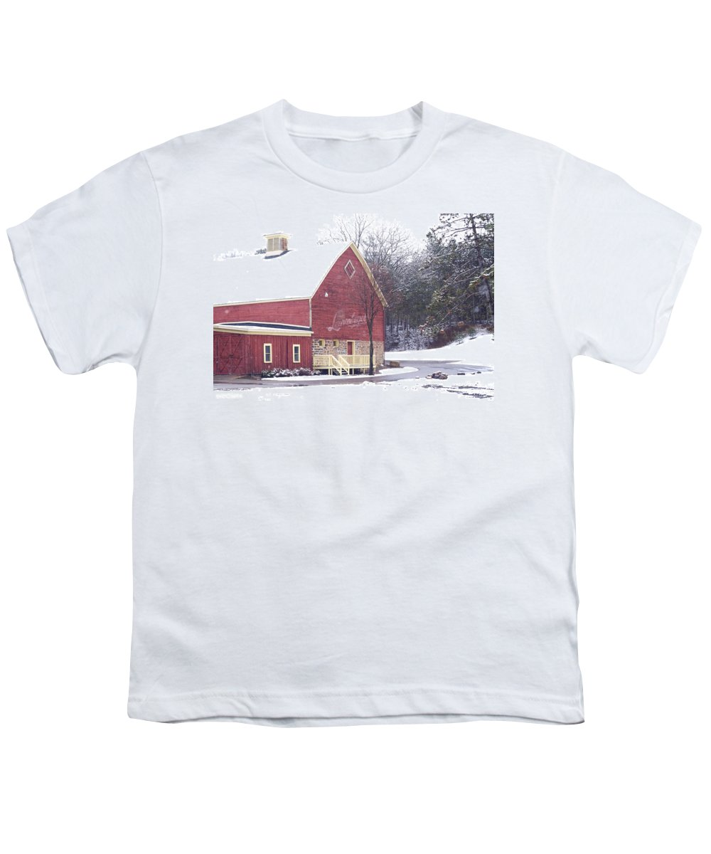 Barn Youth T-Shirt featuring the photograph Leinie by Tim Nyberg