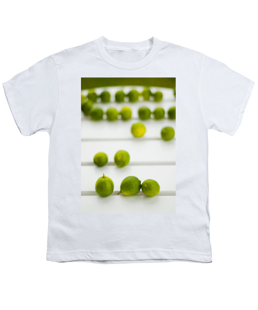 Green Youth T-Shirt featuring the photograph Lime Green by Skip Hunt