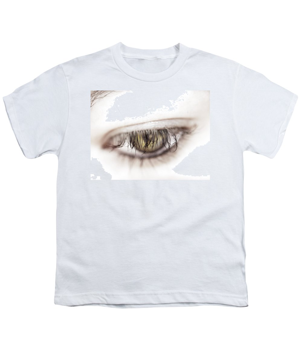 Eye Youth T-Shirt featuring the photograph Look Away by Kelly Jade King