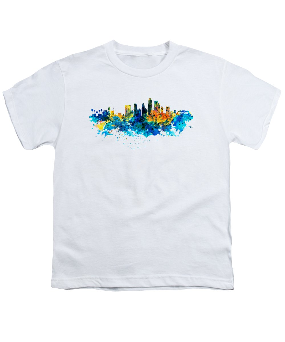 Los Angeles Skyline Youth T-Shirts