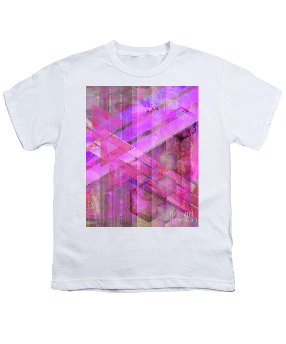 Magenta Haze Youth T-Shirt featuring the digital art Magenta Haze by John Beck