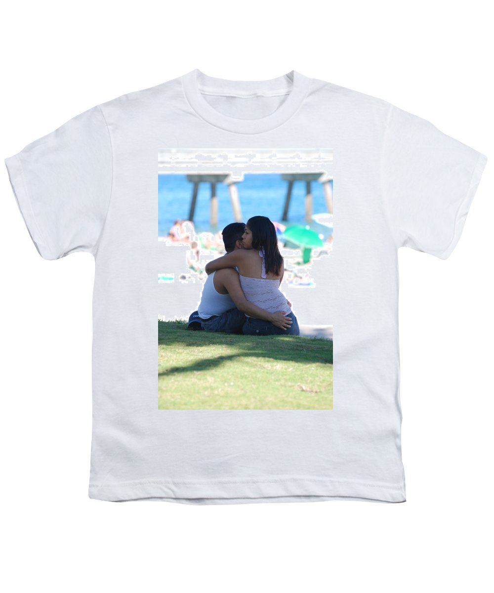 People Youth T-Shirt featuring the photograph Not Married by Rob Hans