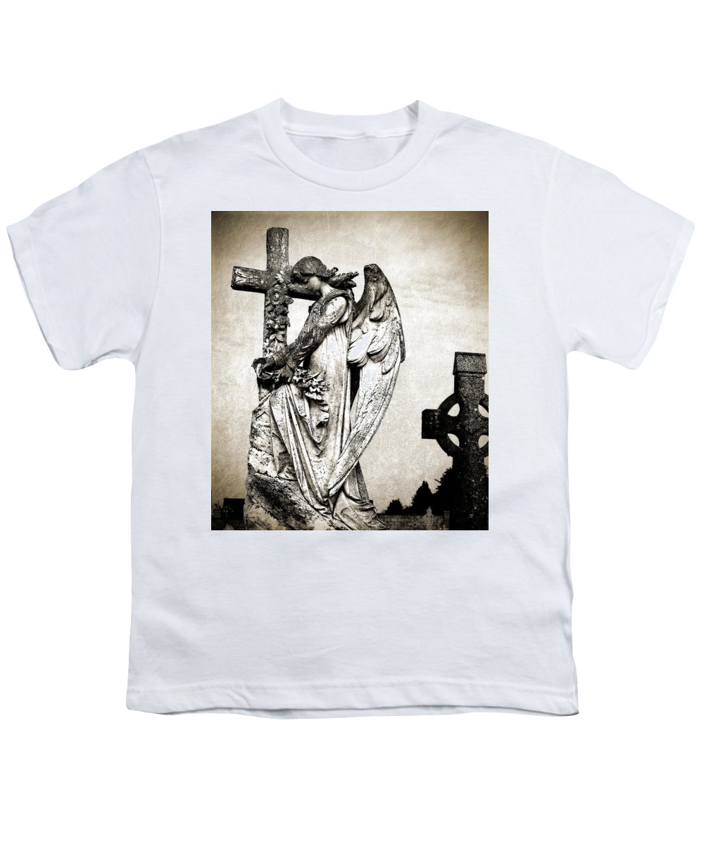 Ireland Youth T-Shirt featuring the photograph Roscommon Angel No 1 by Teresa Mucha