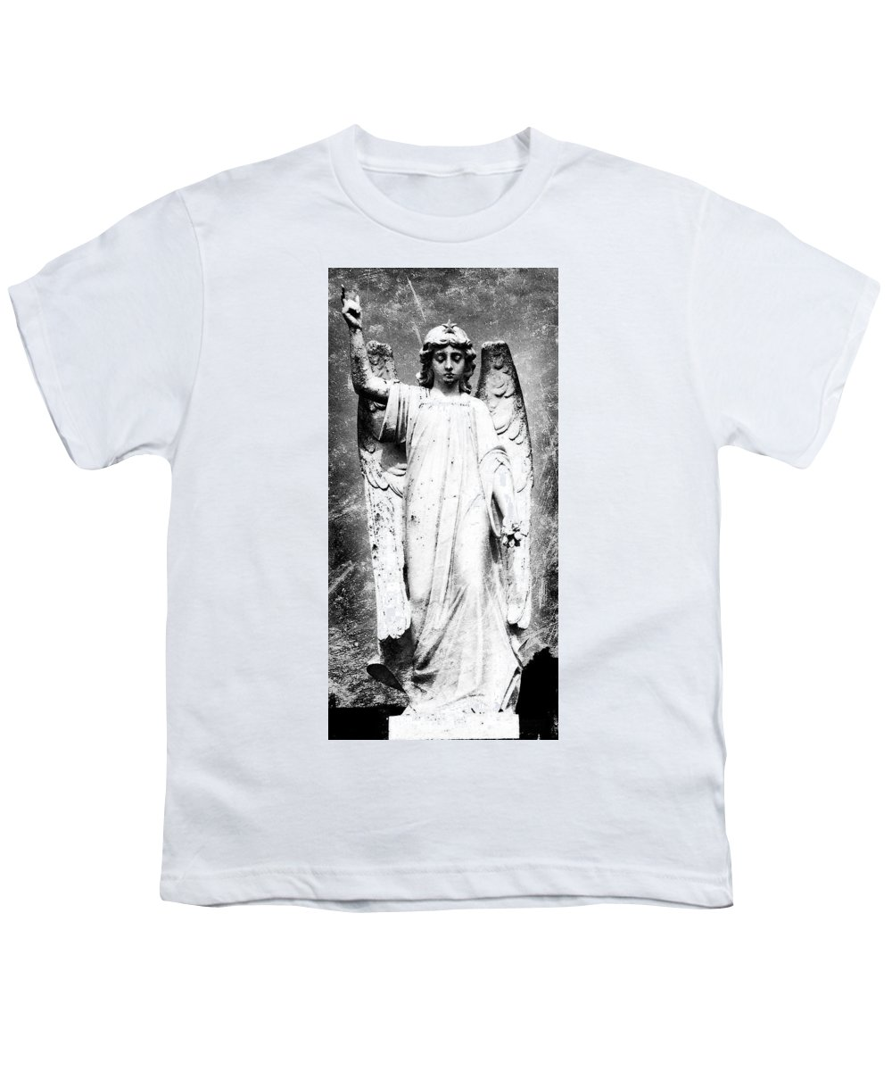Roscommon Youth T-Shirt featuring the photograph Roscommon Angel No 2 by Teresa Mucha