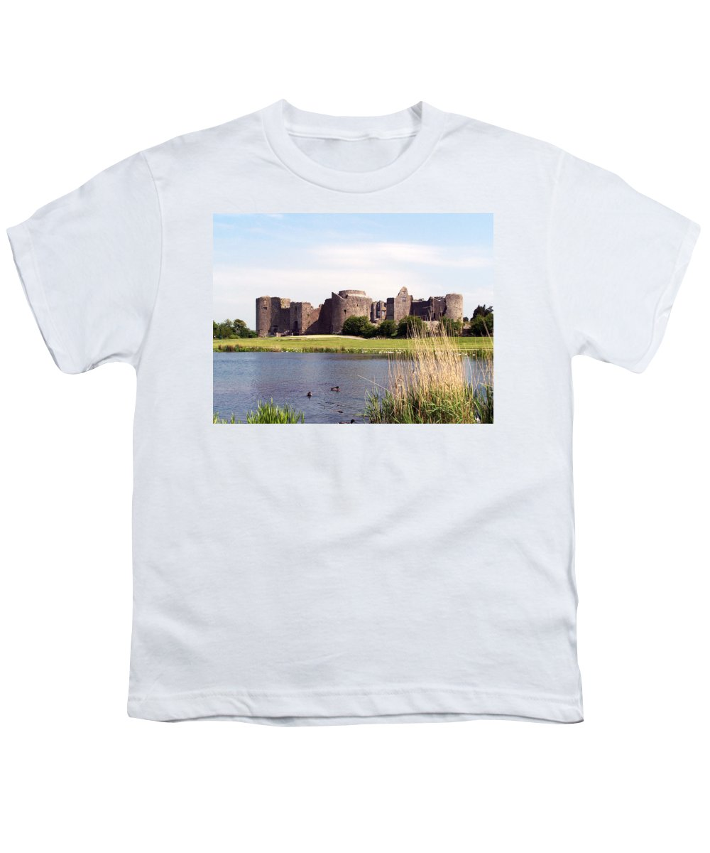 Roscommon Youth T-Shirt featuring the photograph Roscommon Castle Ireland by Teresa Mucha