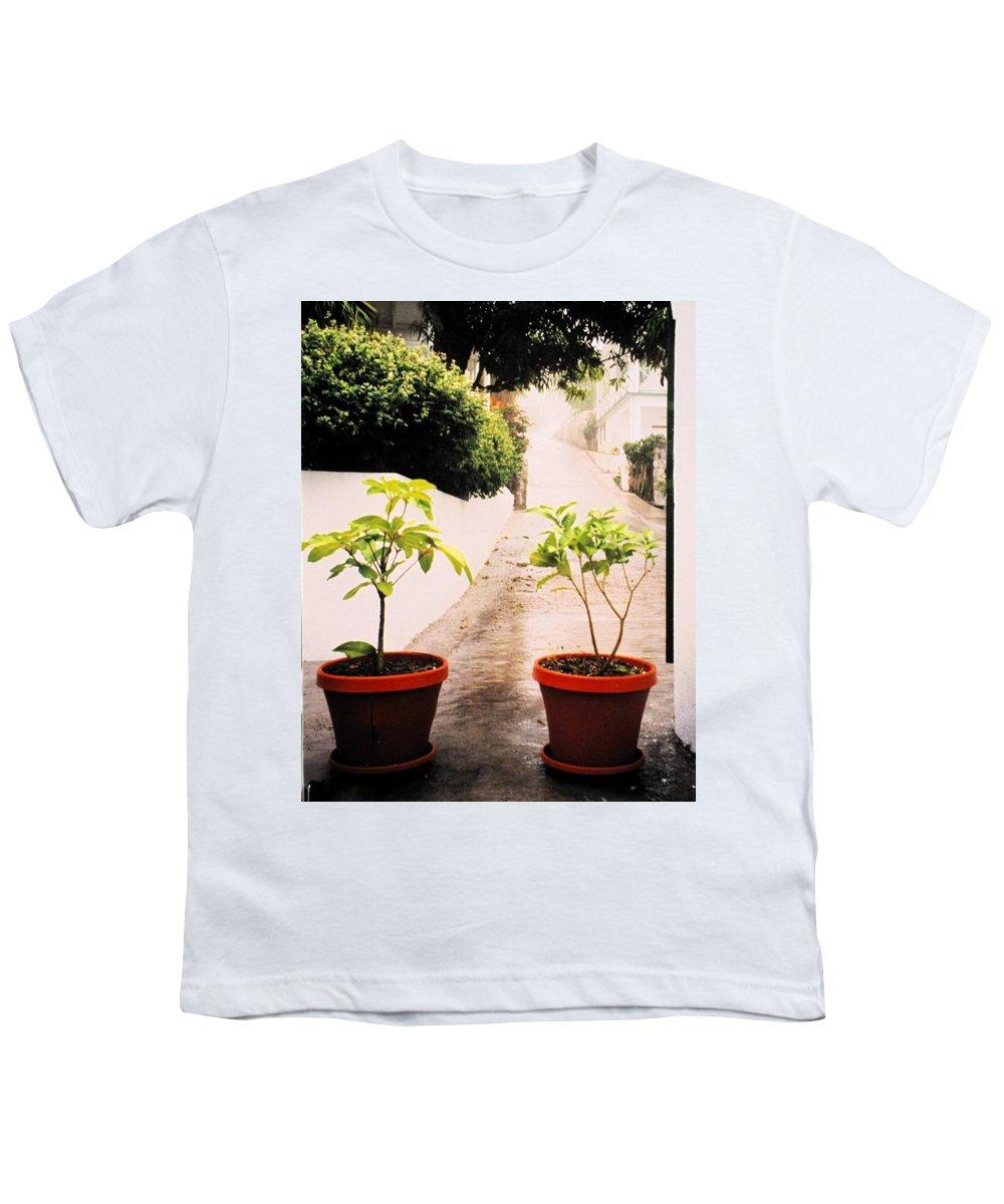 Saba Youth T-Shirt featuring the photograph Saba by Ian MacDonald