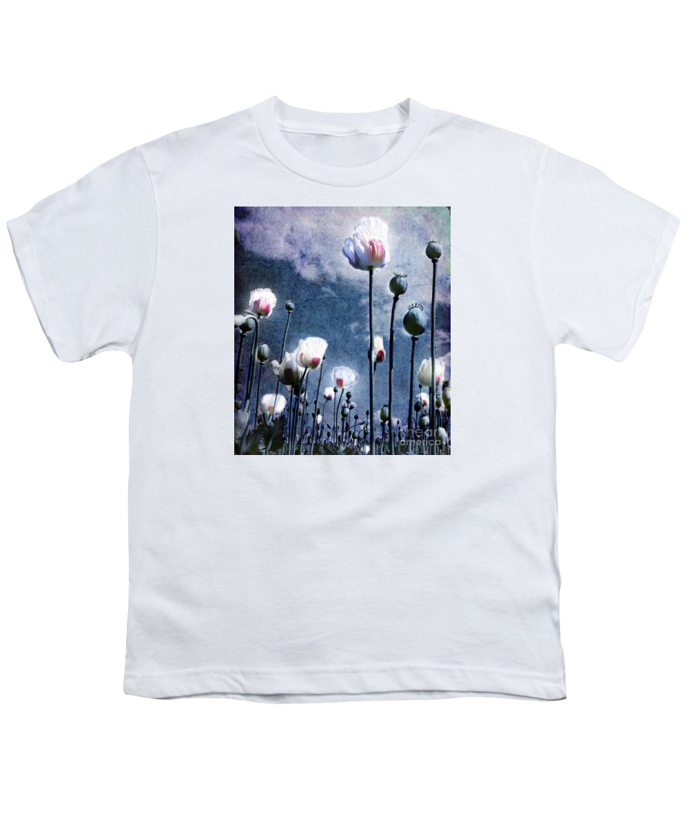 Flowers Youth T-Shirt featuring the photograph Shine Through by Jacky Gerritsen