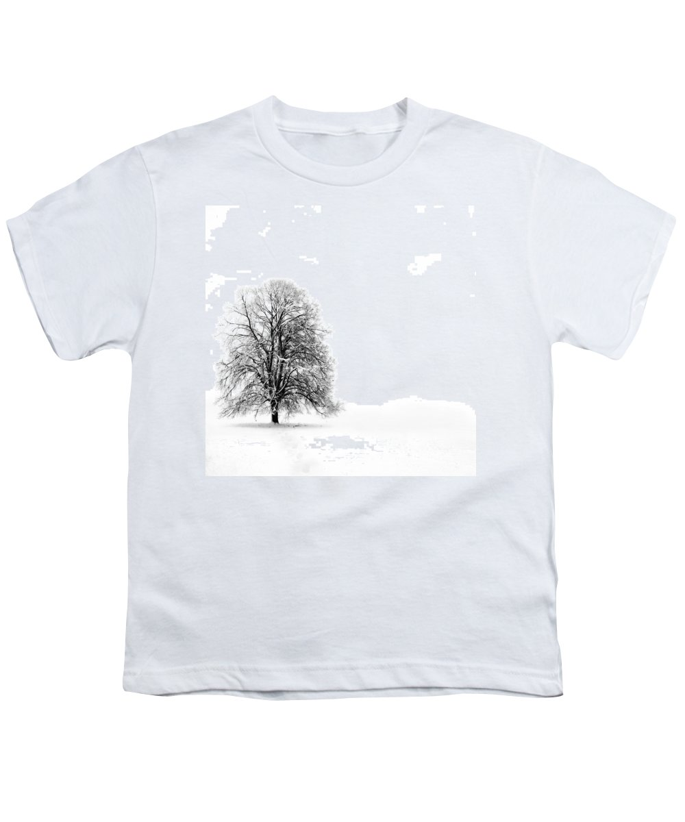 Landscape Youth T-Shirt featuring the photograph Silenzio by Jacky Gerritsen