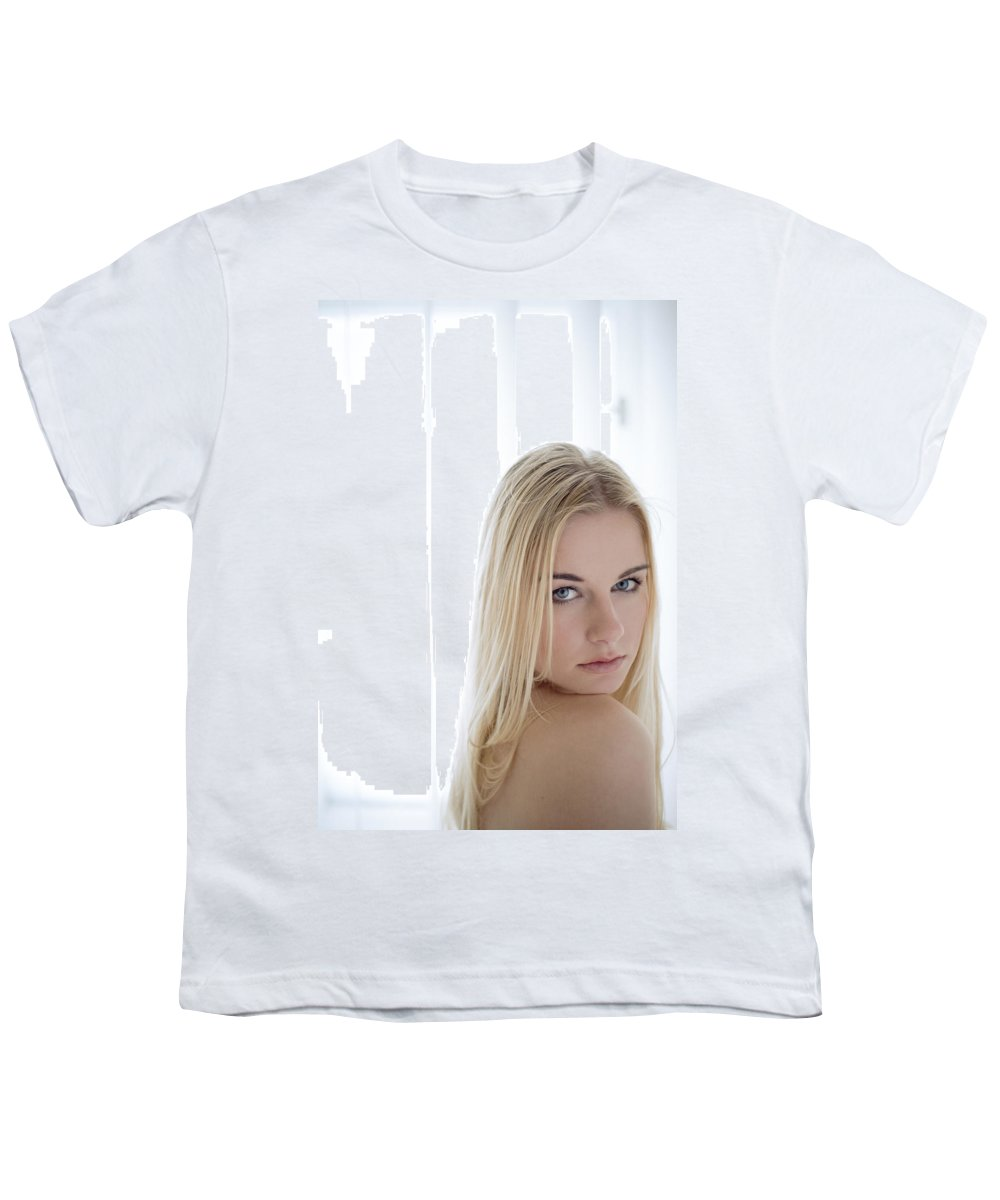 Sensual Youth T-Shirt featuring the photograph Sincere by Olivier De Rycke