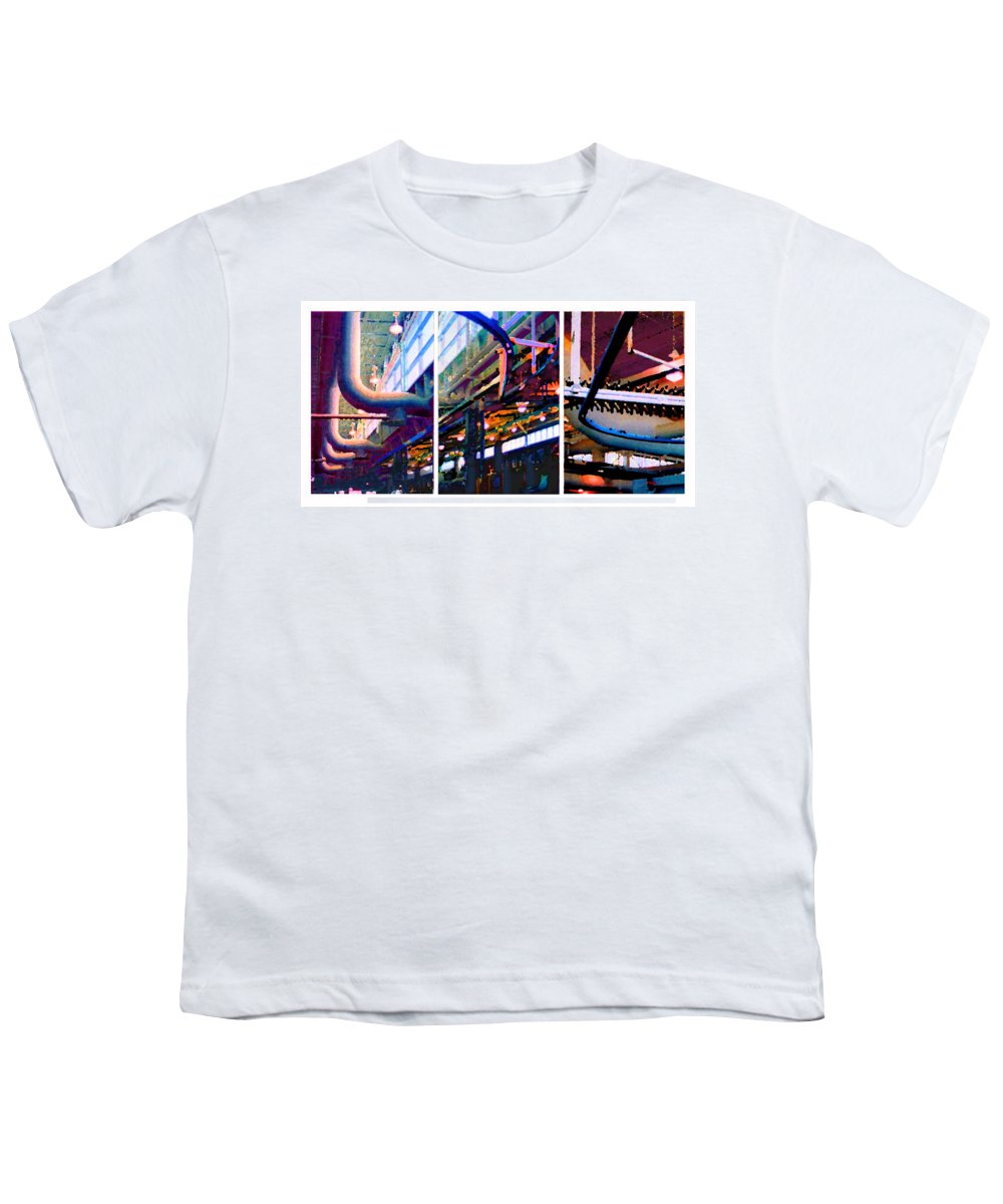 Abstract Youth T-Shirt featuring the photograph Star Factory by Steve Karol