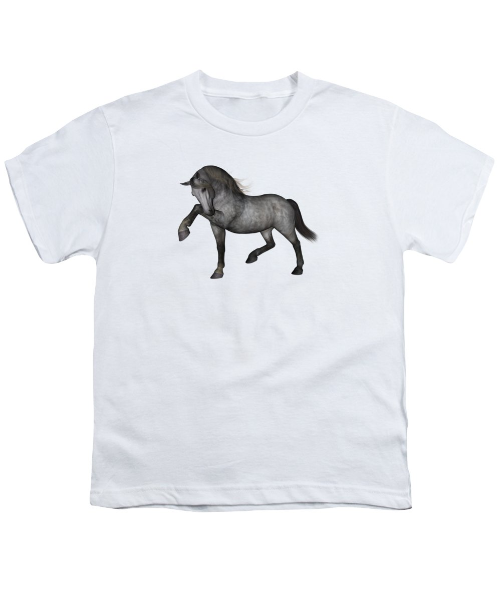Grey Background Youth T-Shirts