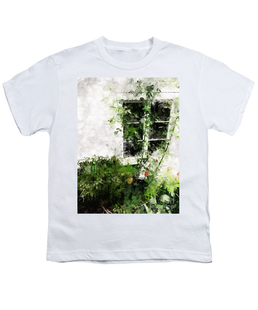 Window Youth T-Shirt featuring the photograph The Climb by Claire Bull