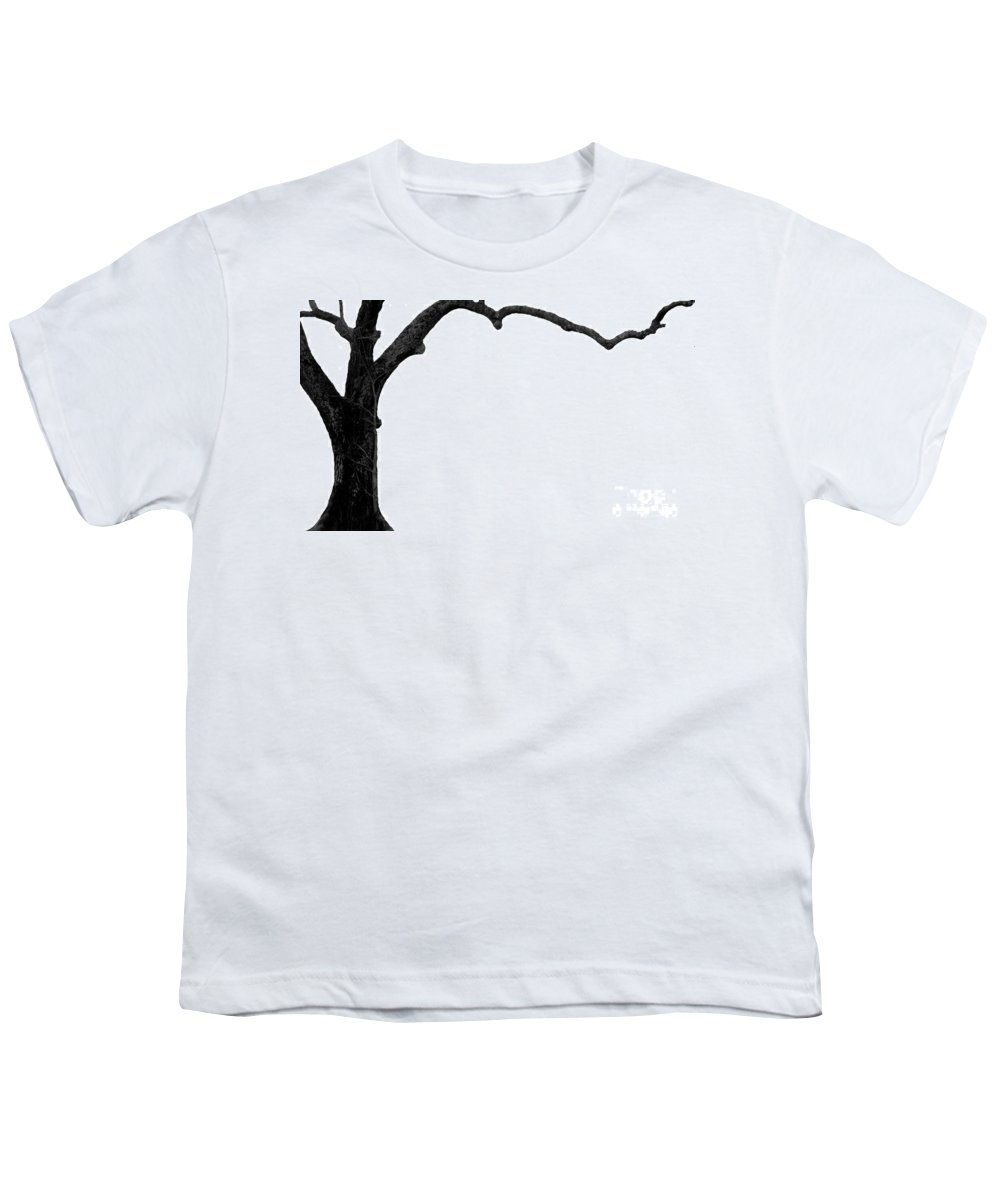 Tree Youth T-Shirt featuring the photograph The Tree by Amanda Barcon