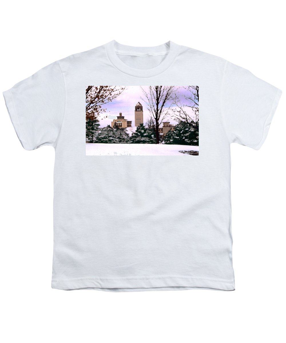 Landscape Youth T-Shirt featuring the photograph Unity Village by Steve Karol