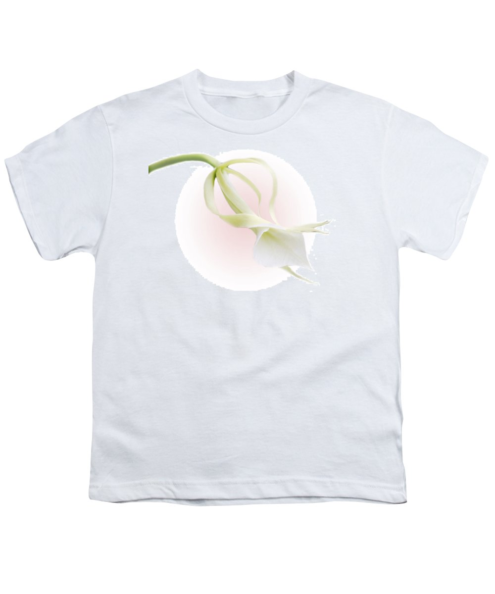 Love Youth T-Shirt featuring the photograph Valentine Orchid by Marilyn Hunt