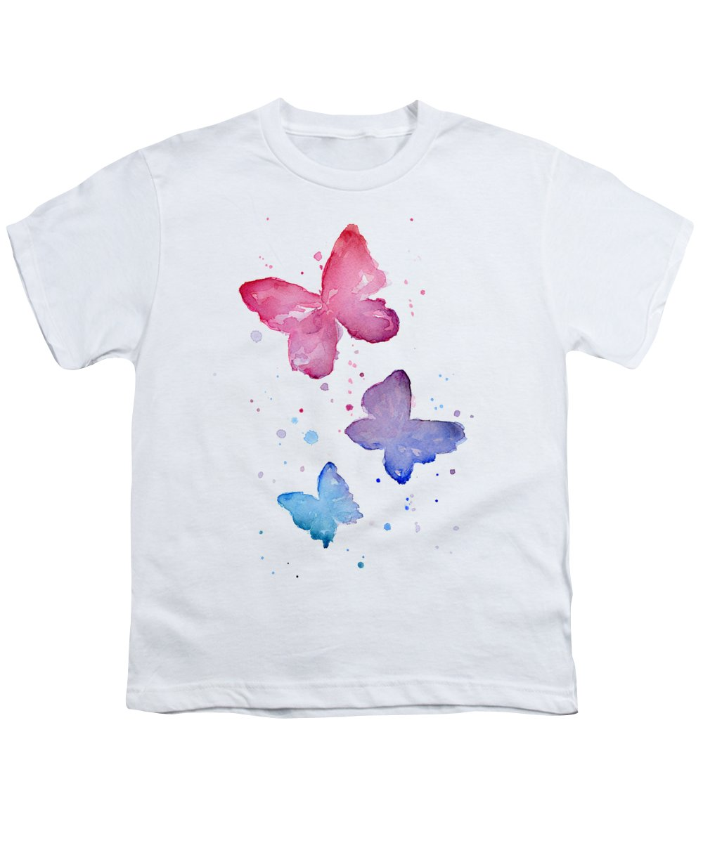 Butterfly Youth T-Shirts