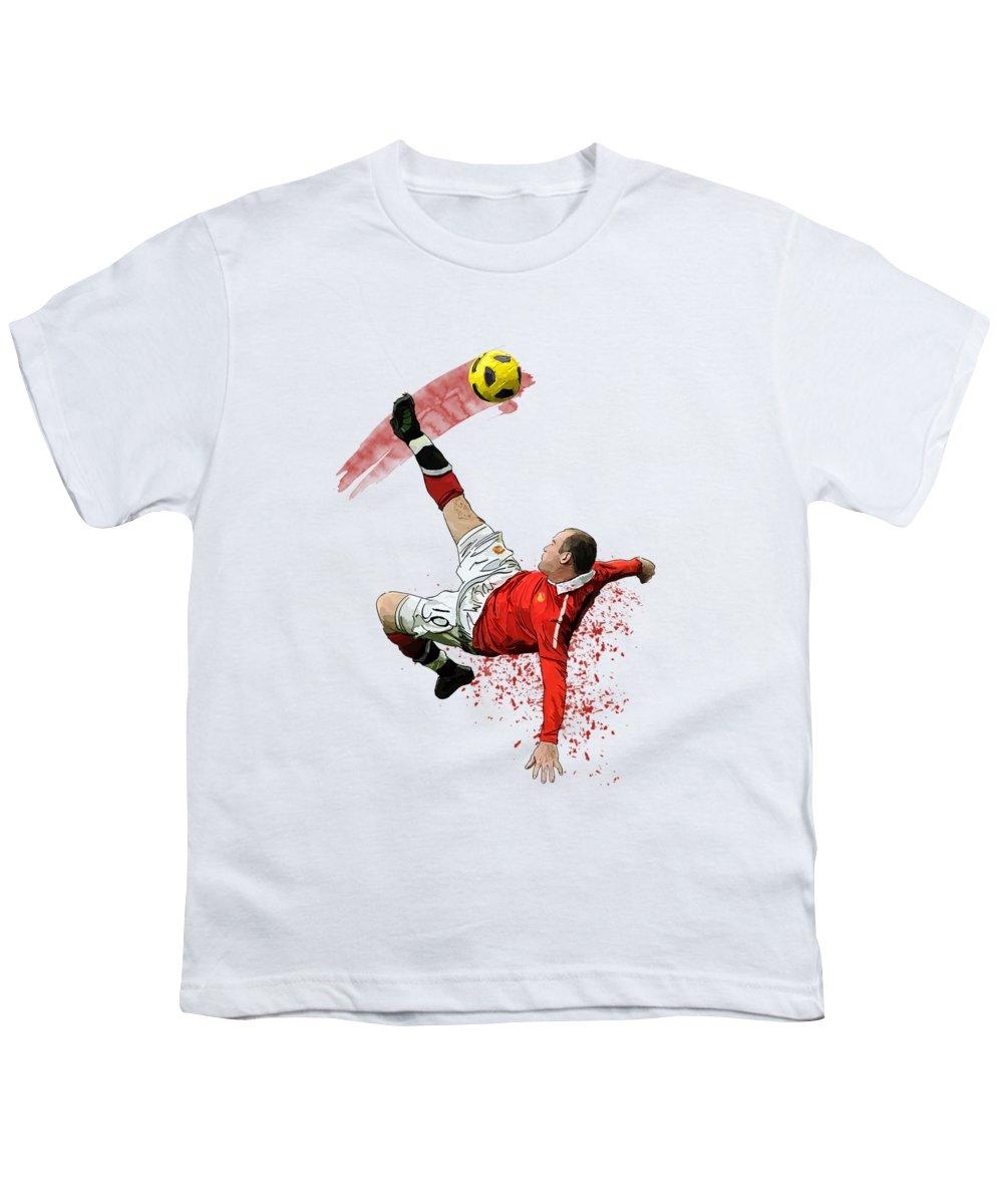 Wayne Rooney Youth T-Shirts