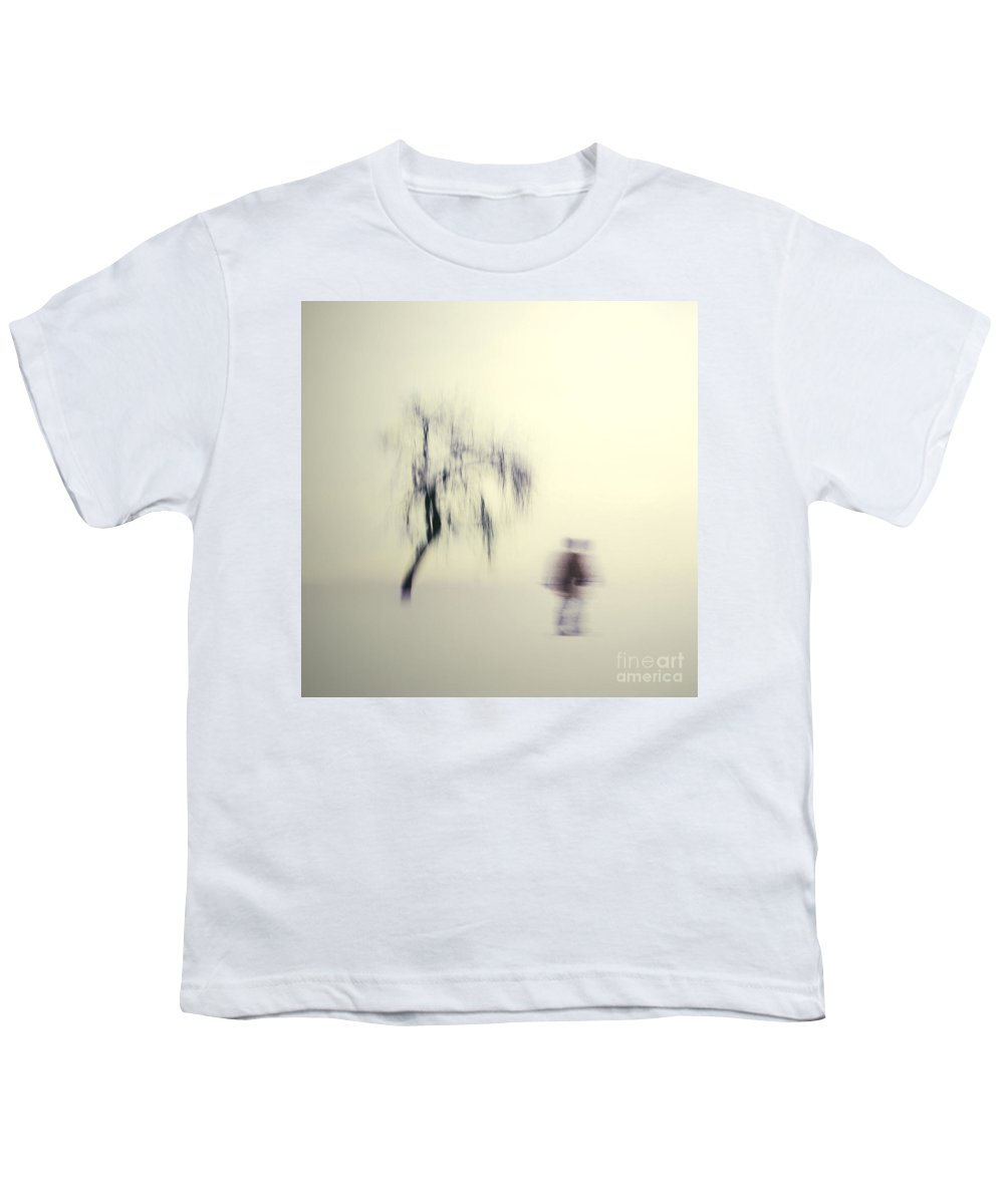 Blur Youth T-Shirt featuring the photograph What Is The Way To The Light by Dana DiPasquale