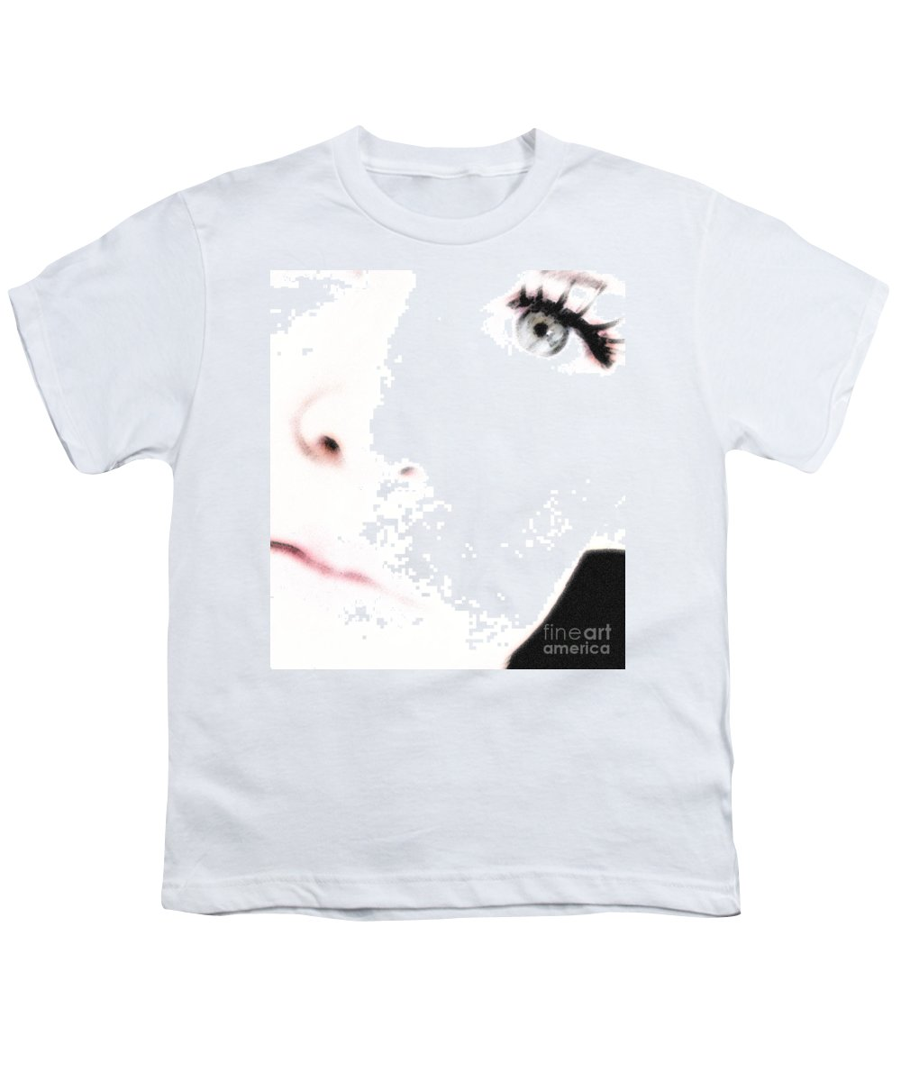 Face Youth T-Shirt featuring the photograph Where Is The Soul by Amanda Barcon